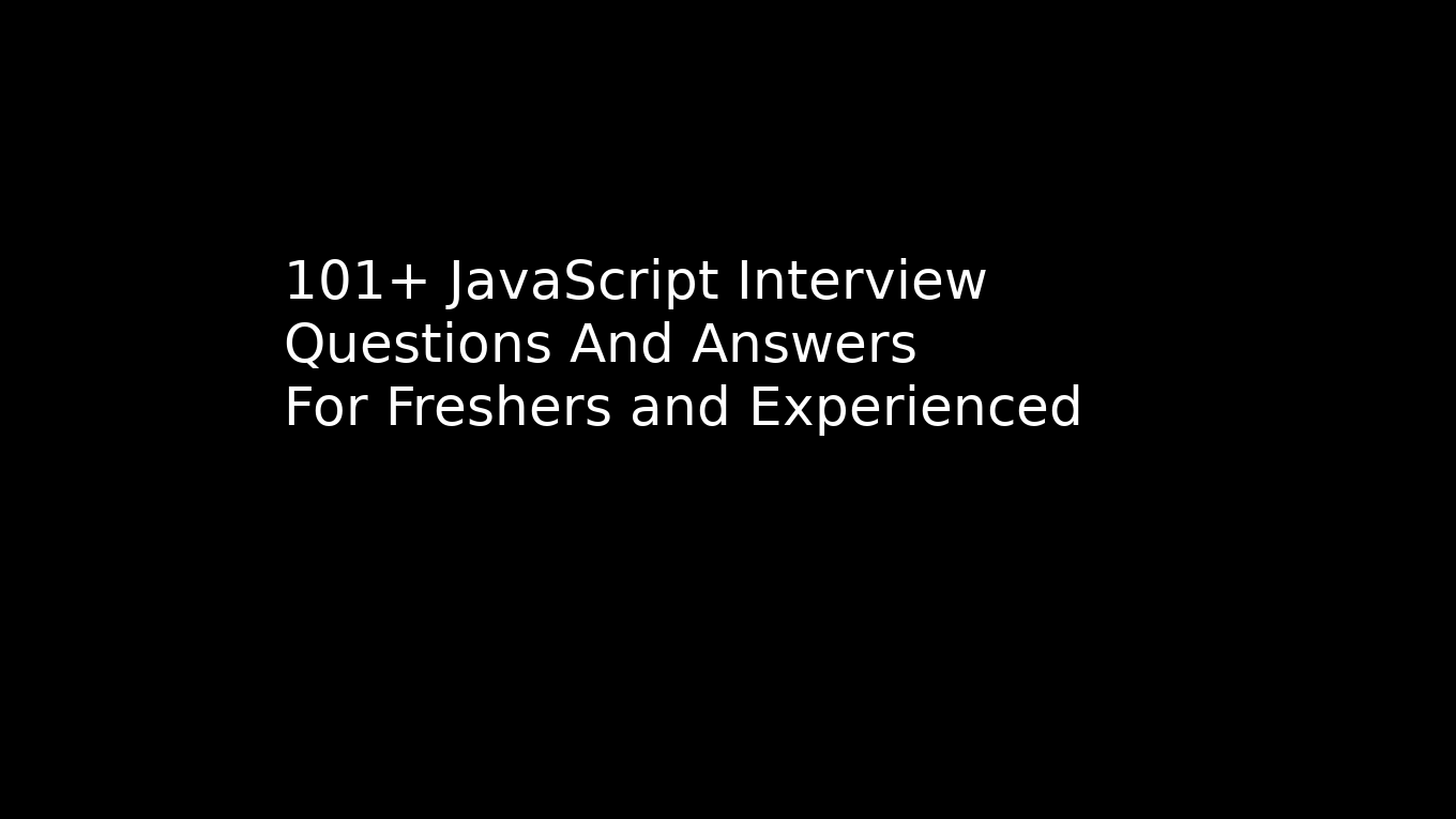 101 + Advanced java interview questions for experienced professionals