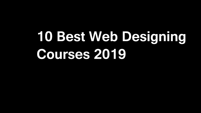 10 Best Web Designing Courses and Certifications