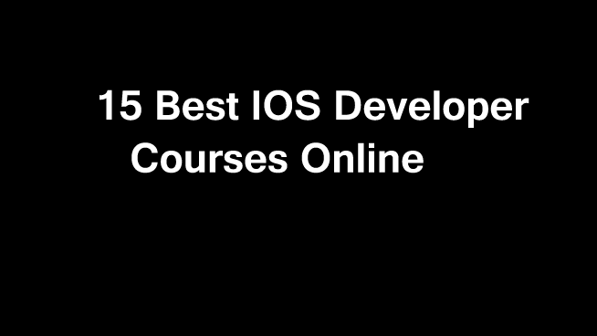 15 Best & Free iOS app Development Courses online