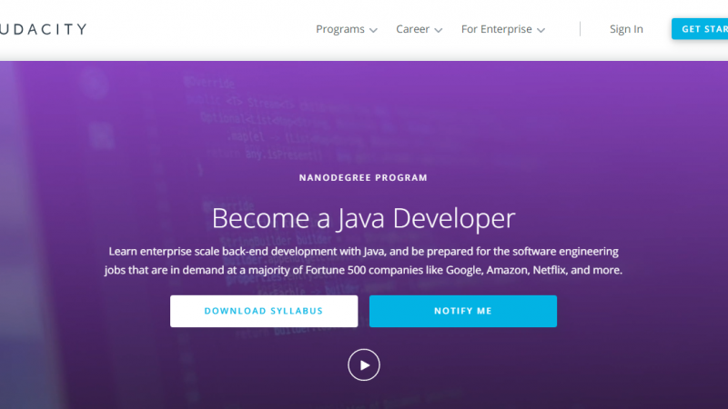 Udacity Java Developer Nanodegree Review