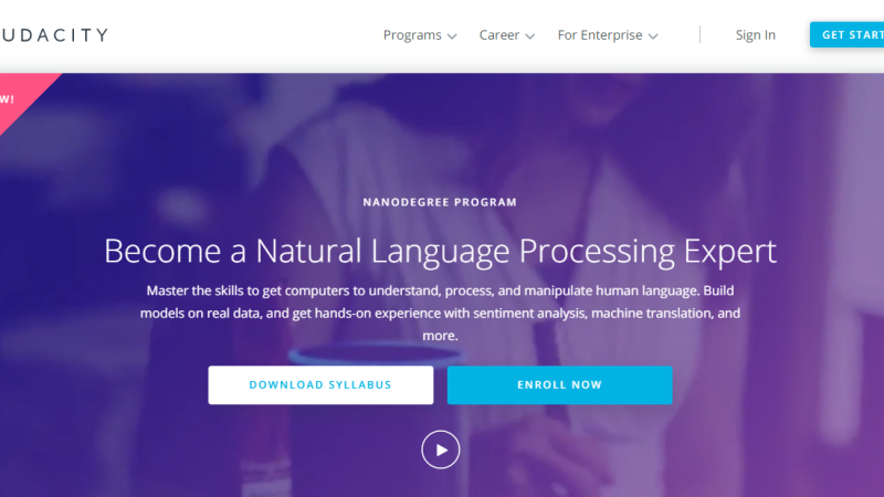 Udacity Natural Language Processing Nanodegree Review