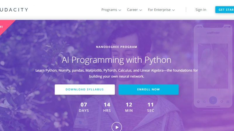 Udacity AI Programming with Python Nanodegree Review