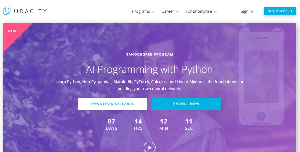 Udacity AI Programming with Python Nanodegree Review