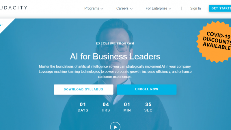 Udacity AI for Business Leaders Nanodegree Review