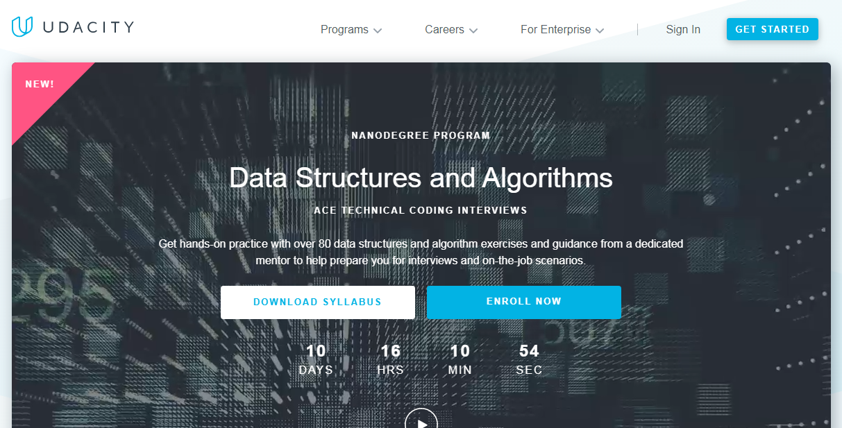 Udacity Data Structures and Algorithms Nanodegree Review