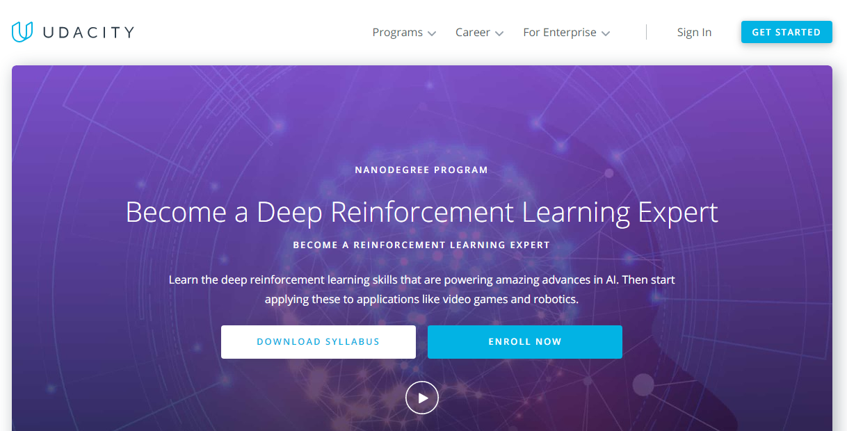 Udacity Deep Reinforcement Learning Nanodegree Review