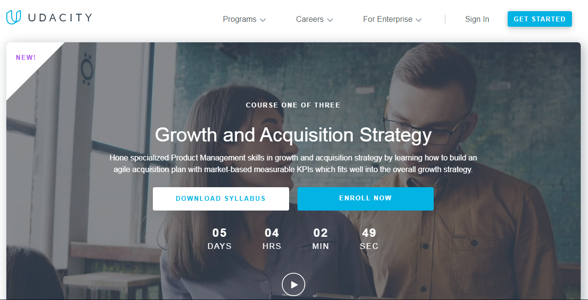 Udacity Growth and Acquisition Strategy Nanodegree Review
