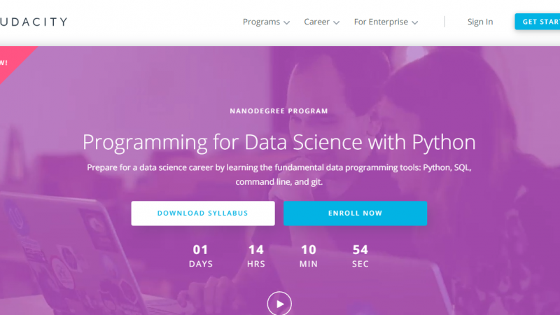 Udacity Programming for Data Science Nanodegree with Python Review