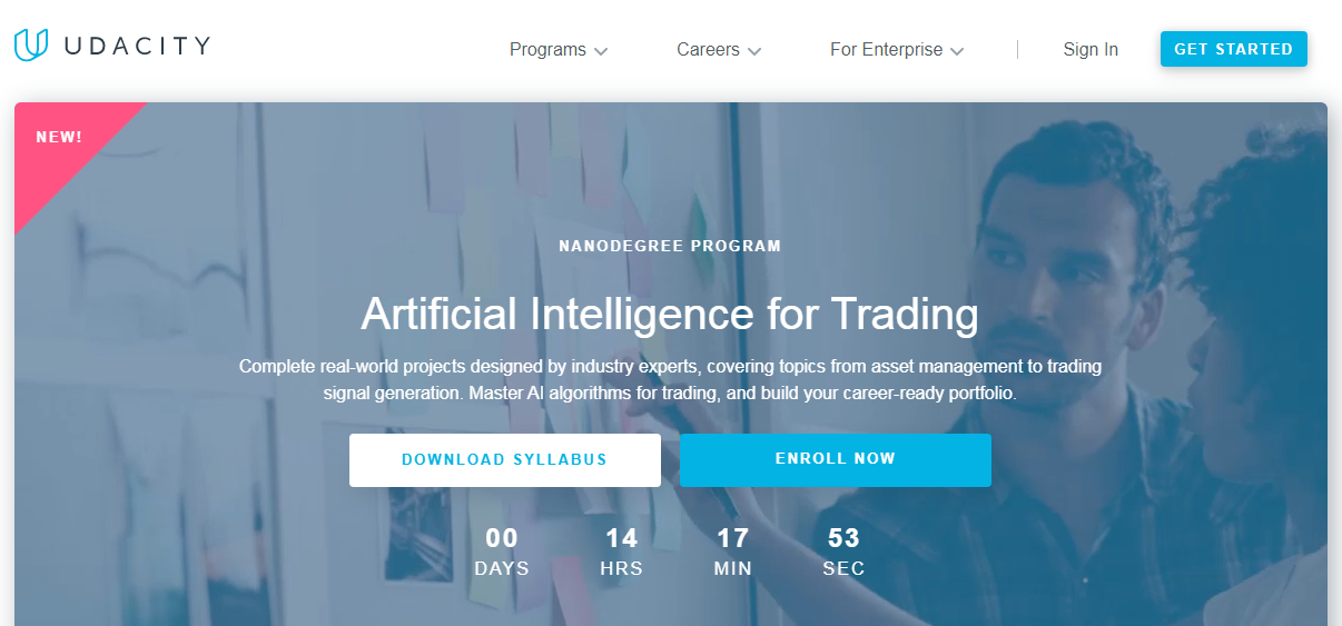 Udacity Artificial Intelligence for Trading Review