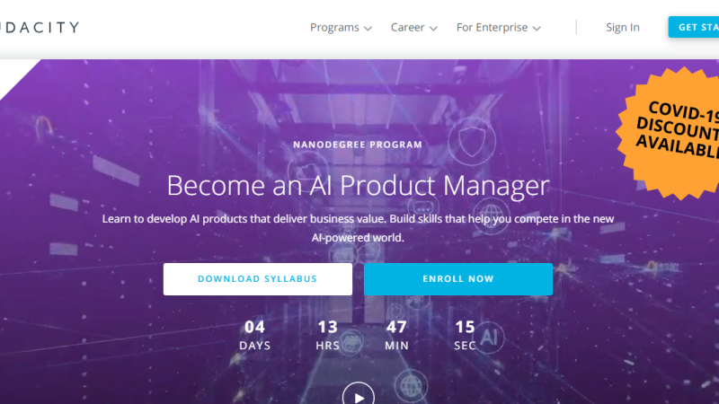 Udacity AI Product Manager Nanodegree Review