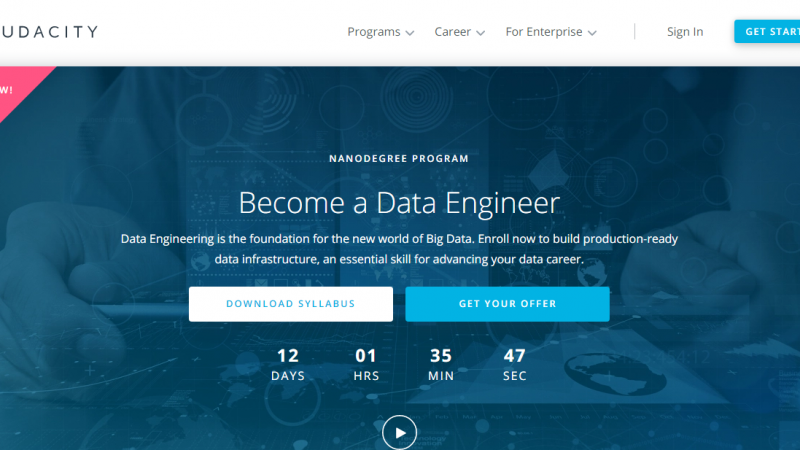 Udacity Data Engineer Nanodegree Review