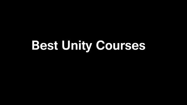 10 Best Unity Courses