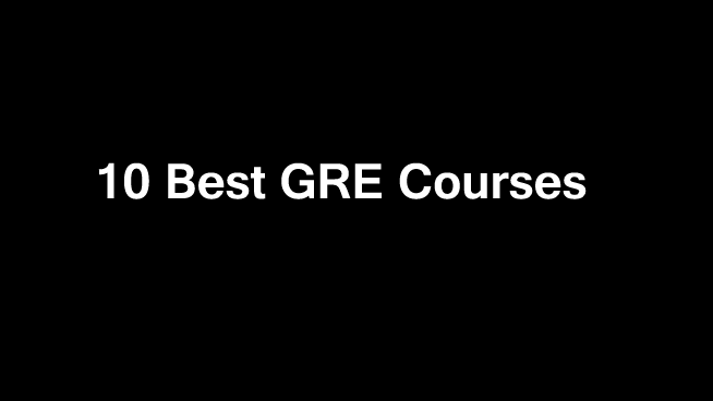 10 Best GRE Exams Online Courses