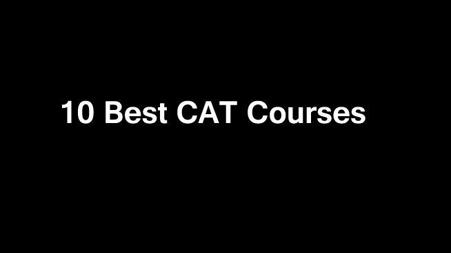 10 Best CAT Online Courses
