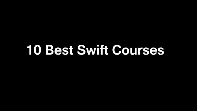 10 Best Swift Courses Online