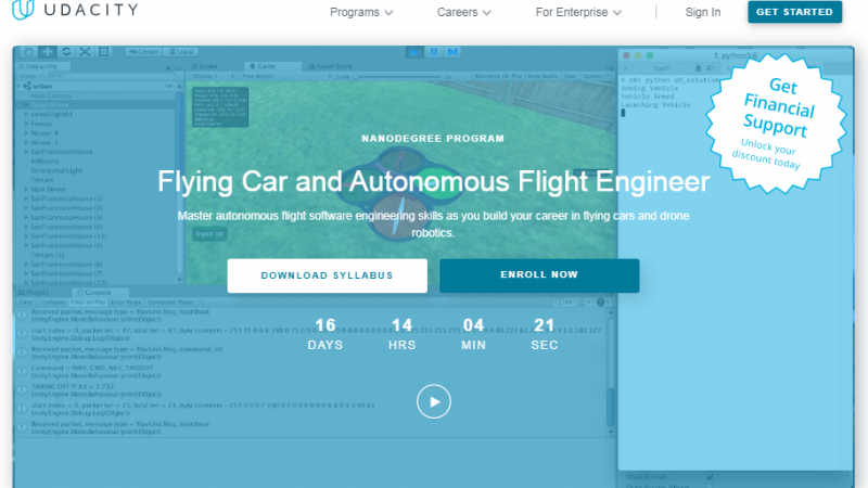 Udacity Flying Car Nanodegree Review