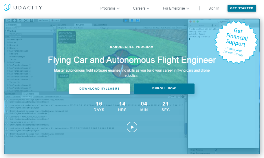 Udacity Flying Car Nanodegree Review