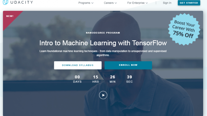 Udacity Intro to Machine Learning with TensorFlow Review