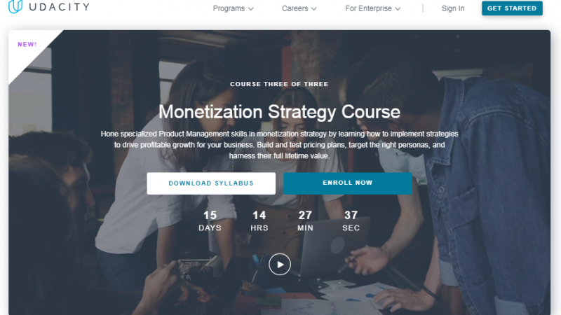 Udacity Monetization Strategy Course Review