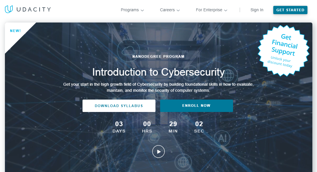 Udacity Cybersecurity Nanodegree Review