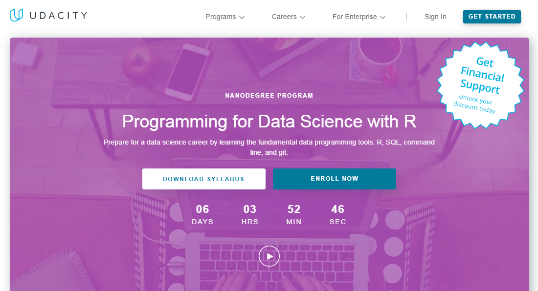 Udacity Programming for Data Science with R Nanodegree Review