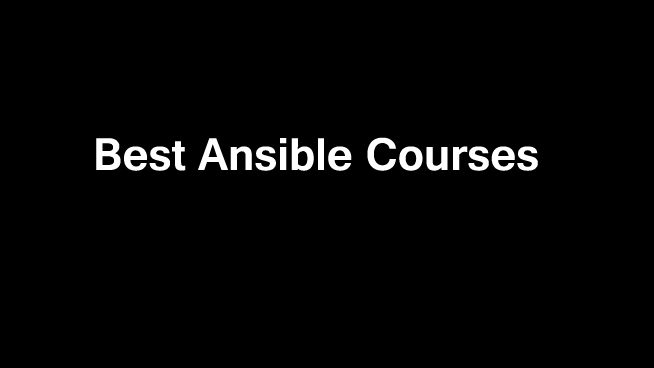 Best-Ansible-Courses