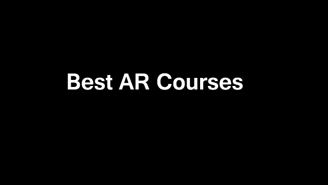 Best-Augmented-Reality-Courses