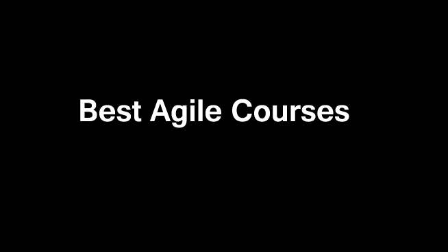 best-agile-courses