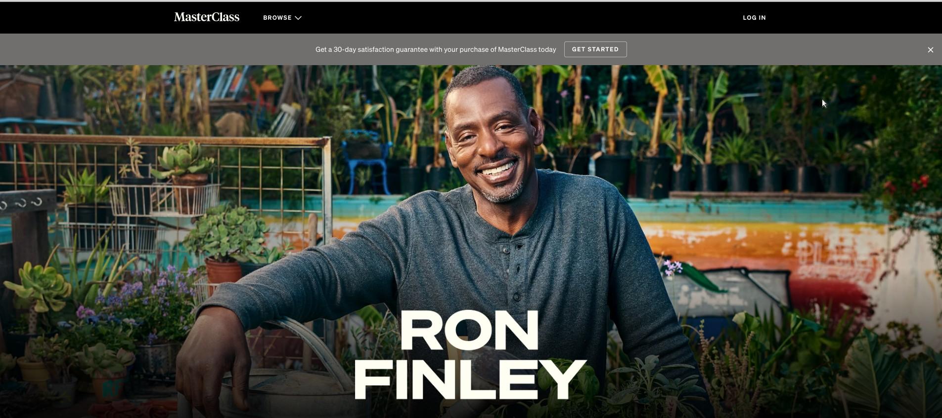 Ron Finley Masterclass Review