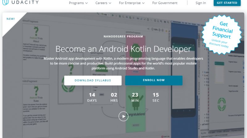 Udacity Android Kotlin Developer Nanodegree Review