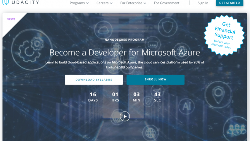 Udacity Developer for Microsoft Azure Nanodegree Review