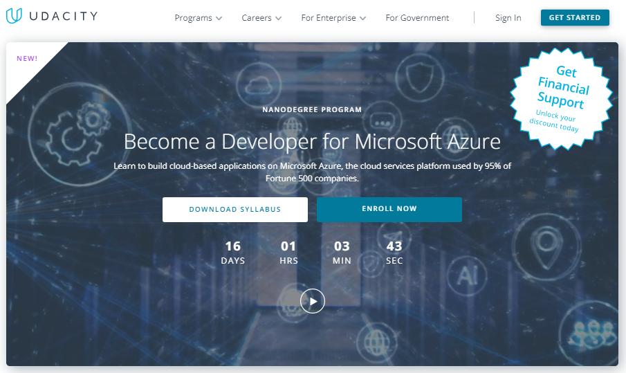 Udacity Developer for Microsoft Azure Nanodegree Review