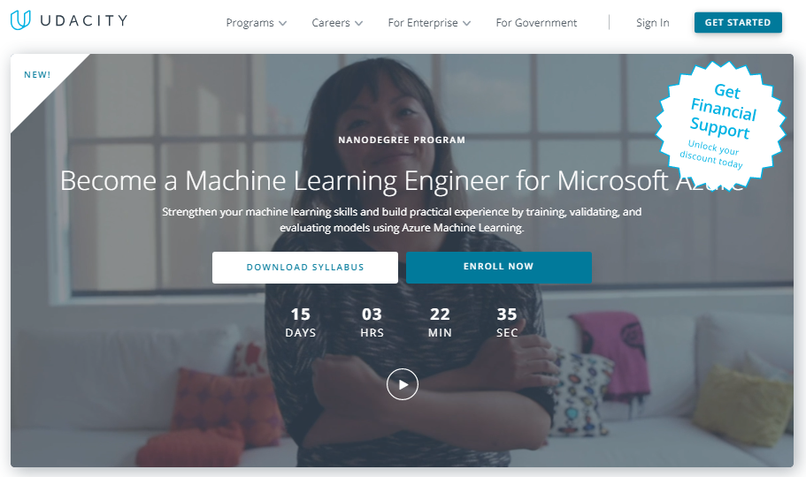Udacity Machine Learning Engineer for Microsoft Azure Nanodegree Review
