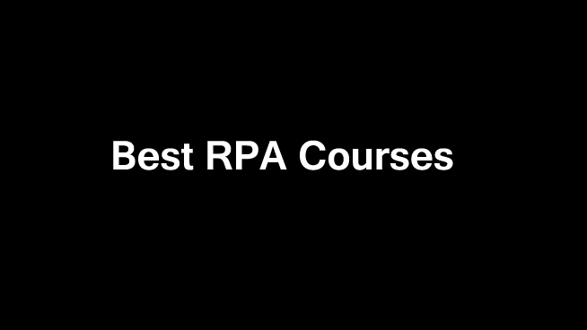best-rpa-courses