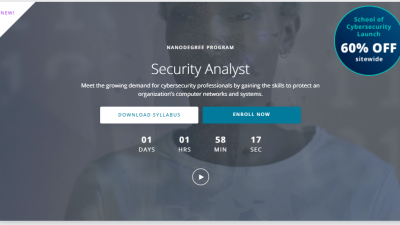 Udacity-Security-Analyst-Nanodegree-review