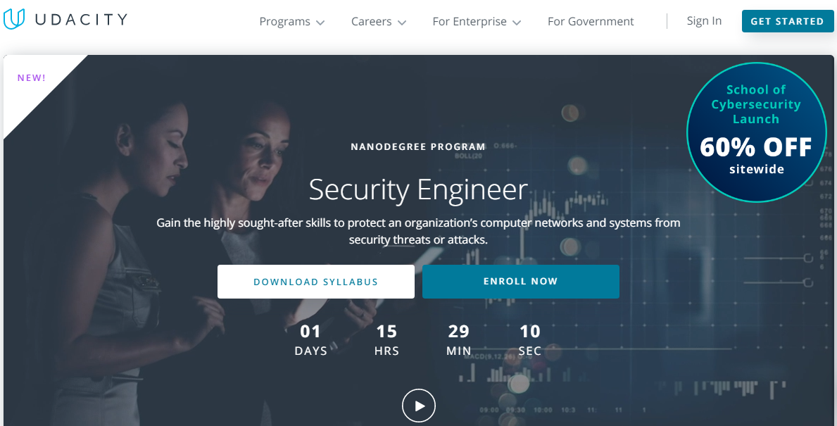 Udacity Security Engineer Nanodegree Review