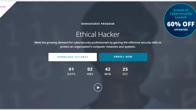 udacity-ethical-hacker-nanodegree-review