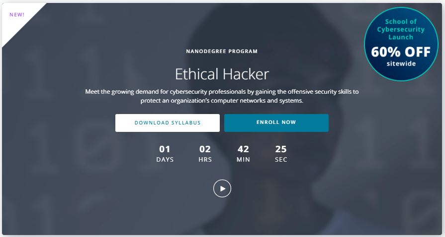 Udacity Ethical Hacker Nanodegree Review