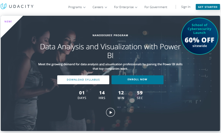 Udacity Data Analysis And Visualization With Power BI Nanodegree Review