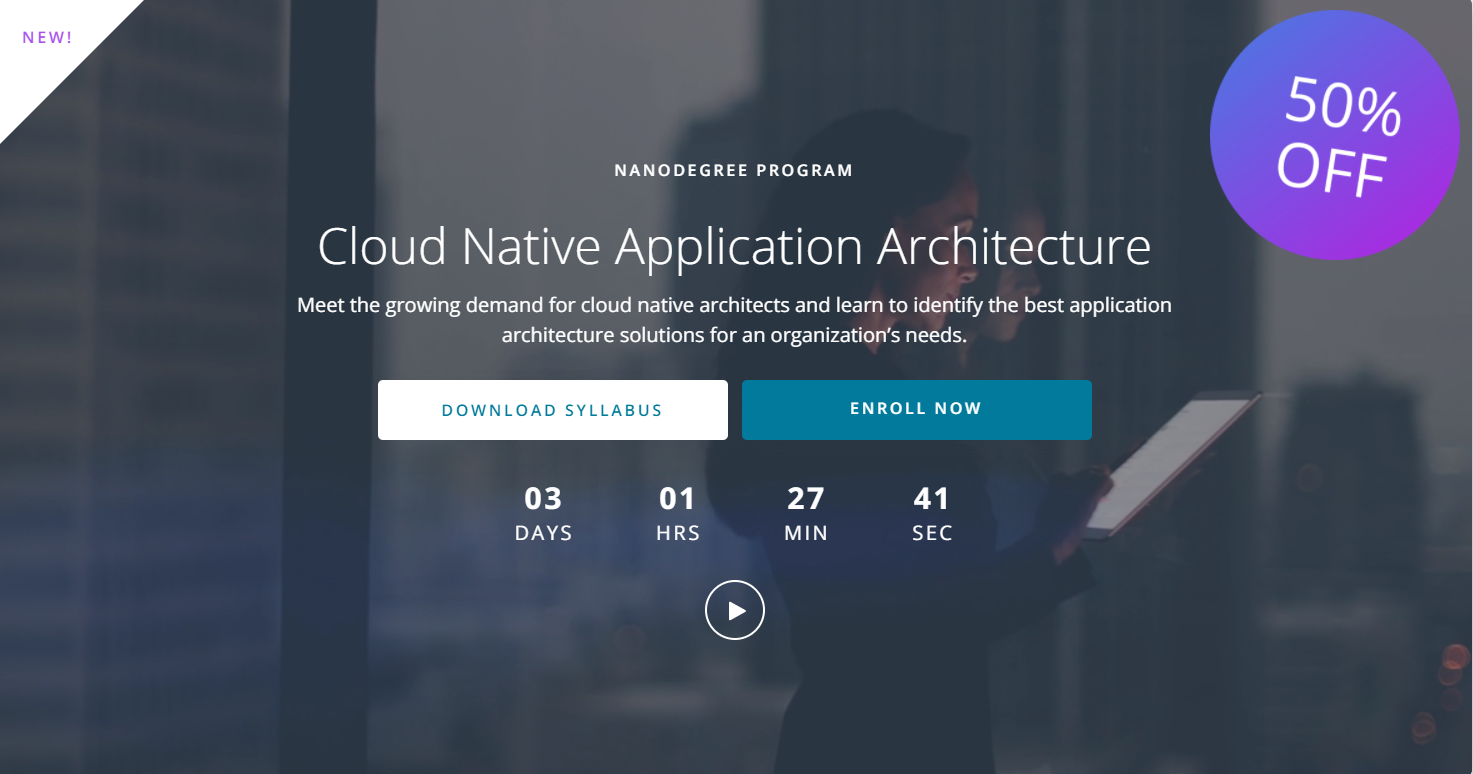 Udacity Cloud Native Application Architecture Nanodegree review