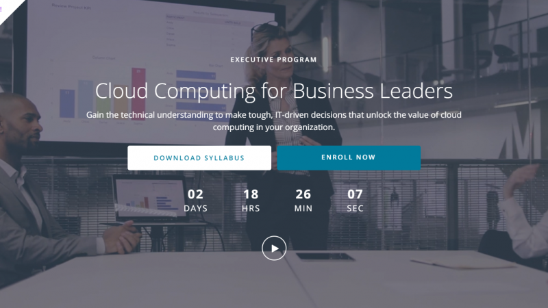 udacity-cloud-computing-for-business-leaders-review