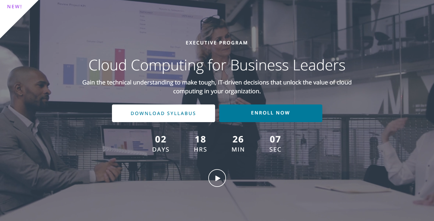 Udacity Cloud Computing for Business Leaders Nanodegree Review