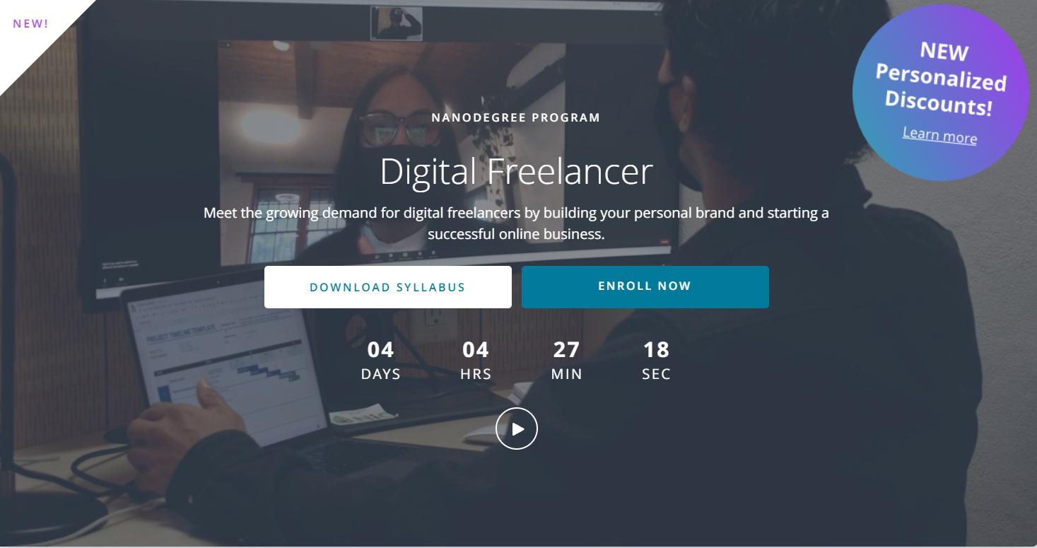Udacity Digital Freelancer Nanodegree Review