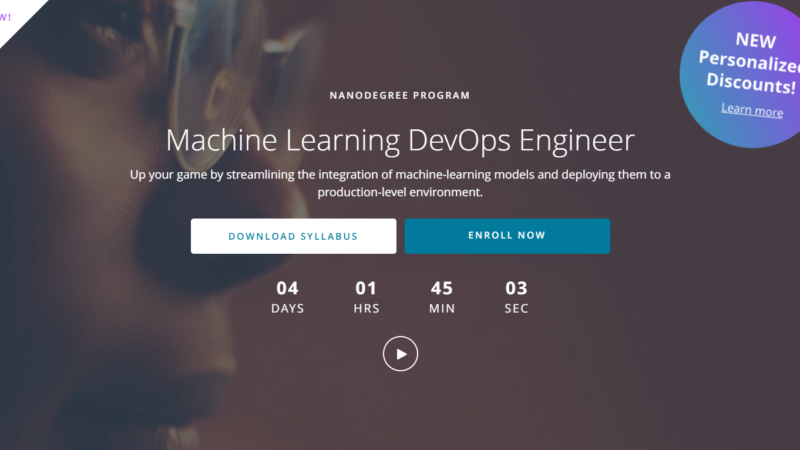 Udacity Machine Learning DevOps Engineer Nanodegree Review