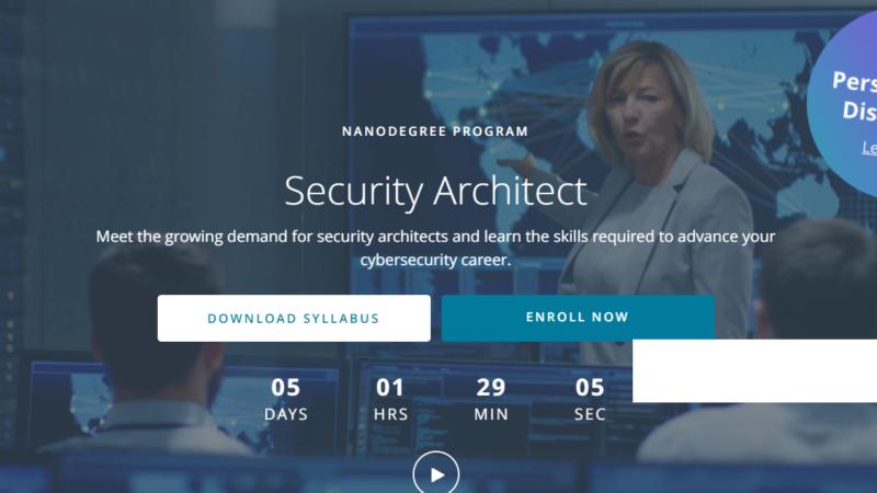 Udacity Security Architect Nanodegree Review
