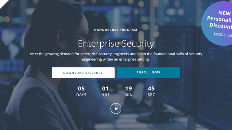 udacity enterprise security nanodegree review